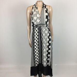 Maeve Channeled Dot Women's Dress 6 Small XX14